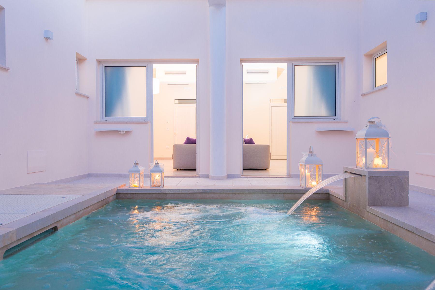 Casina dei Cari -Suites con piscina condivisa